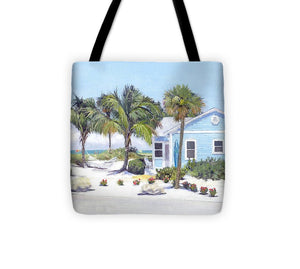 Blue Cottage On Siesta Key Beach, Access 3 - Tote Bag
