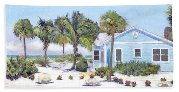 Blue Cottage On Siesta Key Beach, Access 3 - Bath Towel