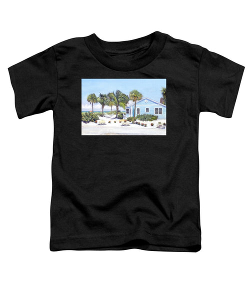 Blue Cottage On Siesta Key Beach, Access 3 - Toddler T-Shirt