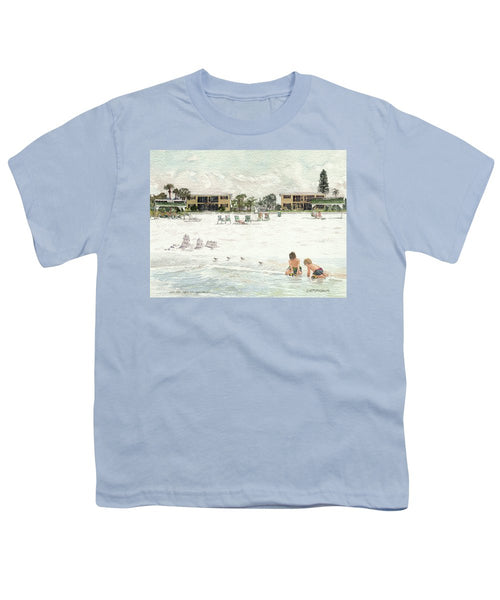 Casa Mar Condo Beachfront, Siesta Key - Youth T-Shirt