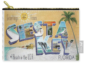 Greetings From Siesta Key - Carry-All Pouch