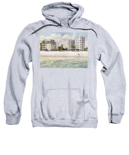 Jamaica Royal Condo, Beachfront, Siesta Key - Sweatshirt