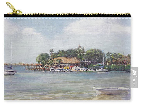 O' Leary's Tiki Bar And Grill On Sarasota Bayfront - Carry-All Pouch