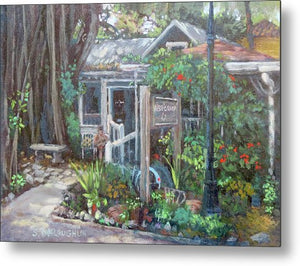 Owens Fish Camp, Burns Court, Sarasota - Metal Print
