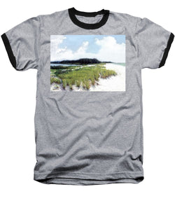 Palme Point, Known As Midnight Pass, Siesta Key - Baseball T-Shirt