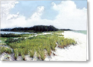 Palmer Point, Known As Midnight Pass, Siesta Key - Greeting Card