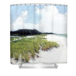 Palmer Point, Known As Midnight Pass, Siesta Key - Shower Curtain
