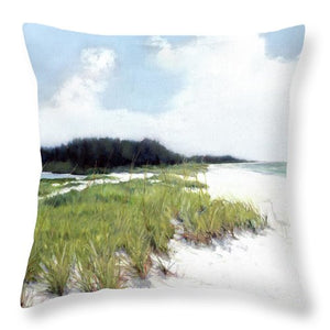 Palmer Point, Known As Midnight Pass, Siesta Key - Throw Pillow
