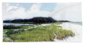 Palmer Point, Known As Midnight Pass, Siesta Key - Bath Towel