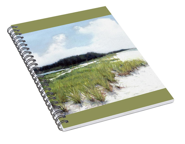 Palmer Point, Known As Midnight Pass, Siesta Key - Spiral Notebook