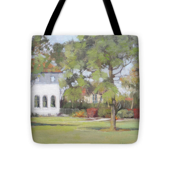 Phillippi Creek Mansion And Rose Garden - Tote Bag