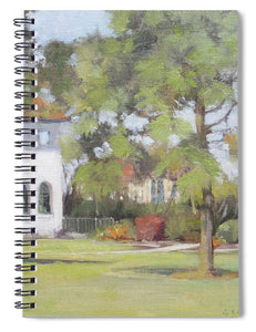 Phillippi Creek Mansion And Rose Garden - Spiral Notebook
