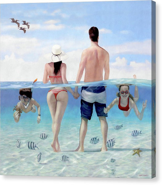 Siesta Beach Resort And Spa Mural - CANVAS PRINT