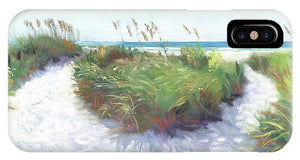 Crescent Beach Path, Access 12, Siesta Key - Wide - Phone Case