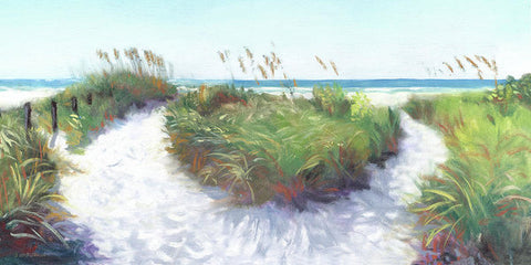 Crescent Beach Path, Access 12, Siesta Key - Wide - Art Print