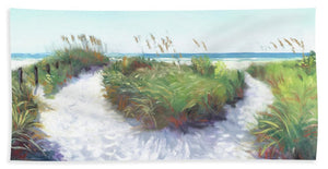 Crescent Beach Path, Access 12, Siesta Key - Wide - Bath Towel