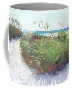 Crescent Beach Path, Access 12, Siesta Key - Wide - Mug