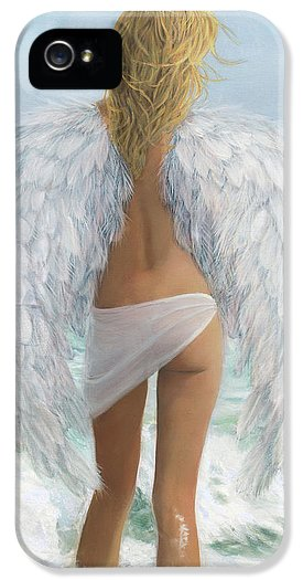 Siesta Key Beach Angel - Phone Case