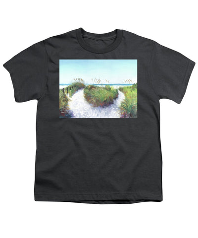 Crescent Beach Path Access 12, Siesta Key - Youth T-Shirt
