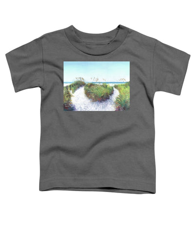 Crescent Beach Path Access 12, Siesta Key - Toddler T-Shirt