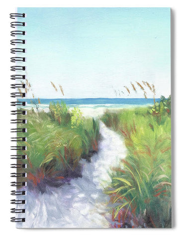 Crescent Beach Path Access 12, Siesta Key - Spiral Notebook