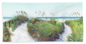 Crescent Beach Path Access 12, Siesta Key - Bath Towel