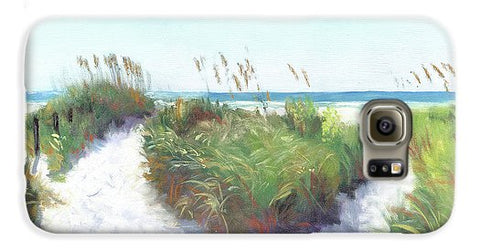 Crescent Beach Path Access 12, Siesta Key - Phone Case