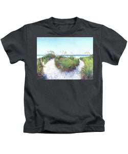 Crescent Beach Path Access 12, Siesta Key - Kids T-Shirt