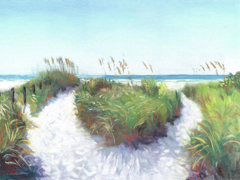 Crescent Beach Path Access 12, Siesta Key - Art Print