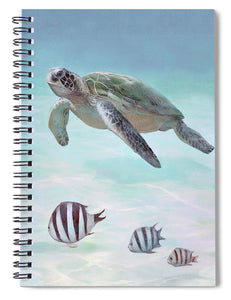 Siesta Key Loggerhead Turtle - Spiral Notebook