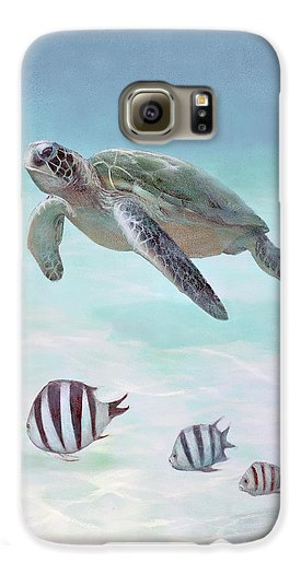 Siesta Key Loggerhead Turtle - Phone Case