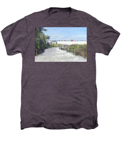 Siesta Key Public Beach Access - Men's Premium T-Shirt