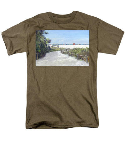 Siesta Key Public Beach Access - Men's T-Shirt  (Regular Fit)