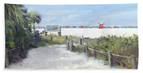 Siesta Key Public Beach Access - Bath Towel