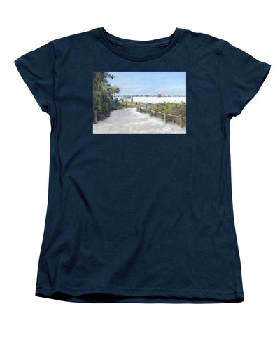 Siesta Key Public Beach Access - Women's T-Shirt (Standard Fit)