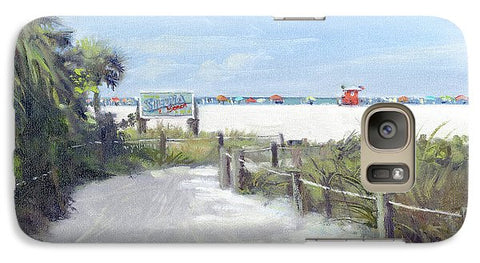 Siesta Key Public Beach Access - Phone Case