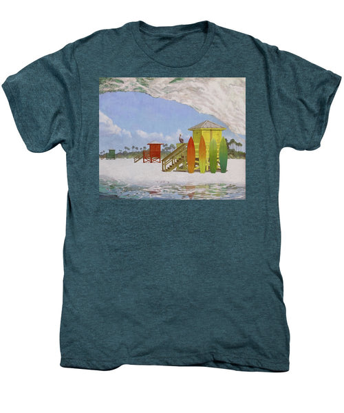 Siesta Key Curl - Men's Premium T-Shirt