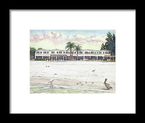 Siesta Royale Condo, Beachfront, Siesta Key - Framed Print
