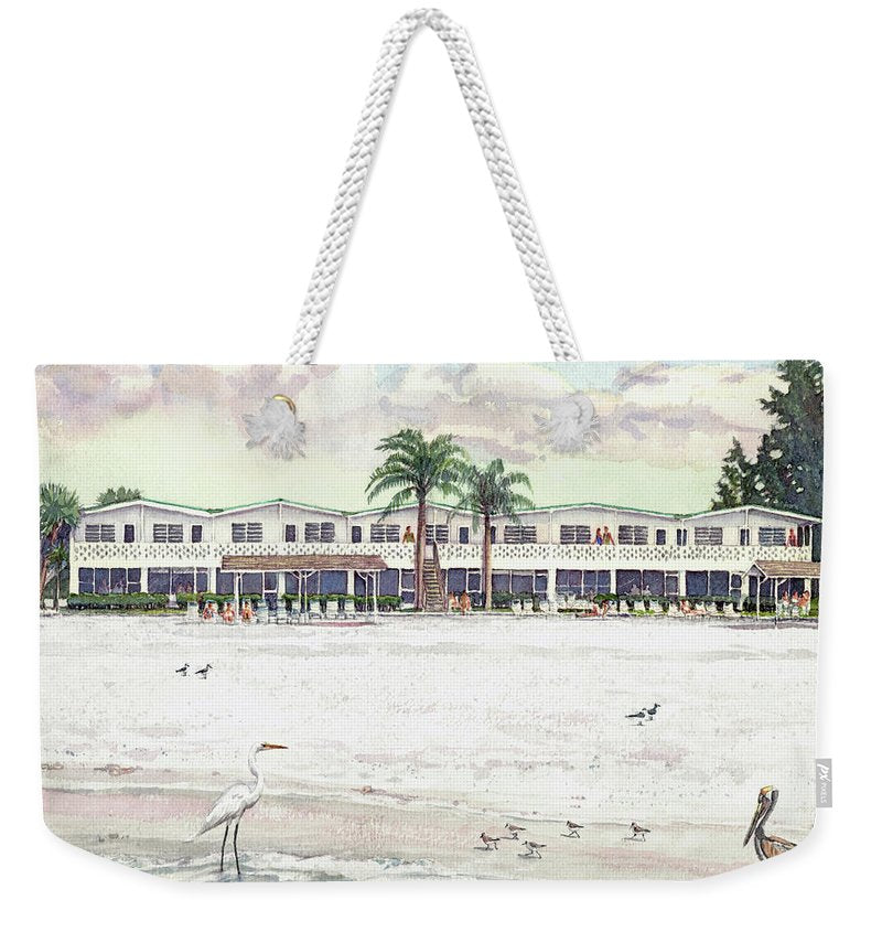 Siesta Royale Condo, Beachfront, Siesta Key - Weekender Tote Bag