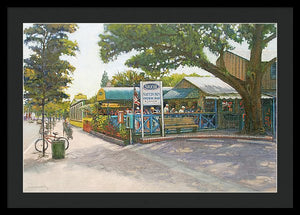 Skob, Siesta Key Oyster Bar - Framed Print