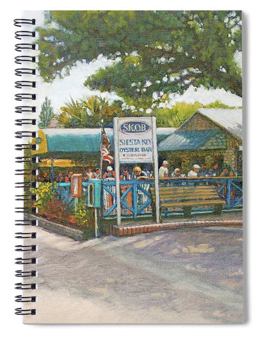 Skob, Siesta Key Oyster Bar - Spiral Notebook
