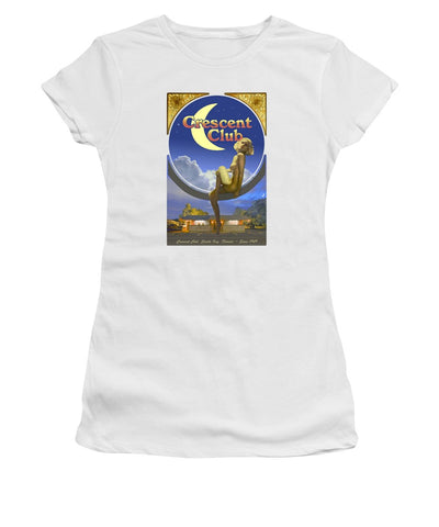The Crescent Club, Siesta Key - Women's T-Shirt