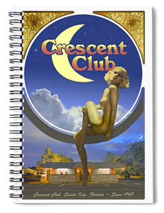 The Crescent Club, Siesta Key - Spiral Notebook
