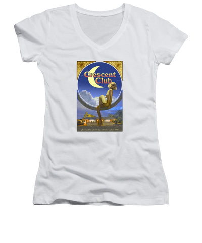 The Crescent Club, Siesta Key - Women's V-Neck