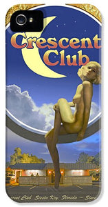 The Crescent Club, Siesta Key - Phone Case