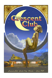 The Crescent Club, Siesta Key - Art Print