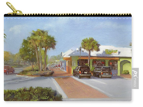 Village Cafe, Siesta Key - Carry-All Pouch