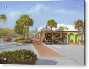 Village Cafe, Siesta Key - Acrylic Print