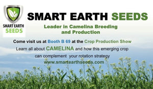 Smart Earth Seeds at the Western Canadian Crop Production Show