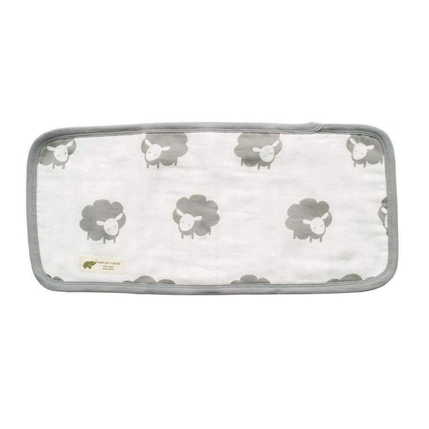 Monica + Andy:Burp Cloth,Organic Luxury Muslin Burp Cloth